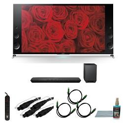 Sony XBR79X900B - 79-inch 120Hz 3D LED X900B Premium 4K Ultra HD TV Bundle