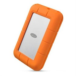 LaCie 4TB Rugged USB-C and USB 3.0 External Hard Drive - ...