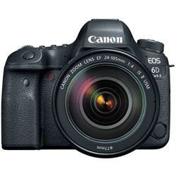 Canon EOS 6D Mark II 26.2MP Full-Frame Digital SLR Camera...