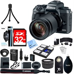 Canon EOS M5 Mirrorless Digital Camera + EF-M 18-150mm ST...