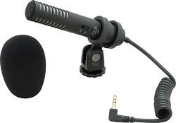 Audio-Technica PRO24-CM Stereo Condenser Shotgun Microphone for camcorders ATPRO24CM