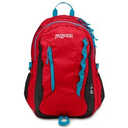 JanSport Agave Backpack (High Risk Red)  - T1F4