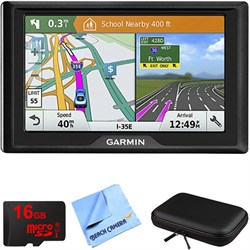 Garmin Drive 61 LMT-S GPS Navigator with Driver Alerts US...