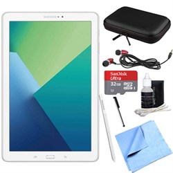 Samsung Galaxy Tab A 10.1 Tablet PC White w/ S Pen, WiFi ...
