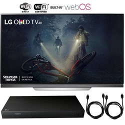 "LG 65"" E7 Picture on Glass OLED 4K HDR Smart TV 2017 + Bl..."