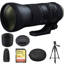 Tamron SP 150-600mm F/5-6.3 Di VC USD G2 Lens f/ Canon Mo...