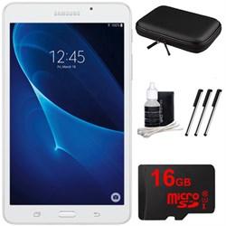 "Samsung Galaxy Tab A Lite 7.0"""" 8GB Tablet PC (Wi-Fi) White 16GB microSD Accessory Bundle"" E2SAMSMT280NZWAXAR"