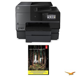 Hewlett Packard Officejet Pro 8630 e-All-in-One Wireless Color Printer w/ Photoshop Lightroom 5