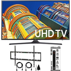 Samsung UN60KU6300 - 60-Inch 4K UHD HDR Smart LED TV w/ F...