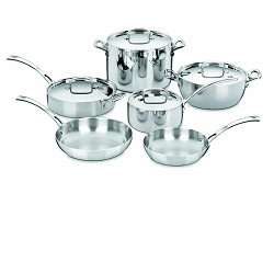 Cuisinart FCT-10 - 10-Piece French Classic Tri-Ply Stainl...