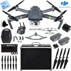 DJI Mavic Pro 4K Camera Quadcopter Drone Fly More Combo 2...