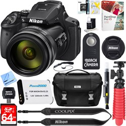 Nikon COOLPIX P900 16MP 83x Super Zoom Digital Camera + 6...