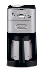 Cuisinart Grind & Brew Thermal 10 Cup Automatic Coffeemaker CUIDGB650BC