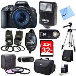 Canon EOS Rebel T5i 18MP SLR Camera with 18-135mm STM 3 Lens Ultra Kit