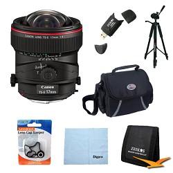 Canon TS-E 17mm f/4L Ultra-Wide Tilt-Shift Manual Focus L...