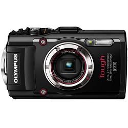 Olympus TG-3 16MP 1080p HD Shockproof Waterproof Digital Camera - Black