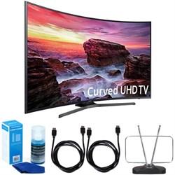 "Samsung UN55MU6490FXZA Curved 54.6"" LED 4K UHD SmartTV (2..."