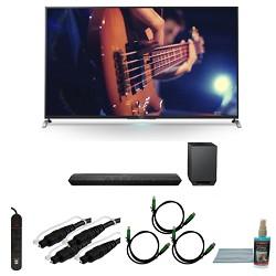 Sony KDL55W950B - 55-Inch Ultimate Smart 3D LED HDTV Motionflow Bundle
