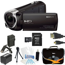 Sony HDR-CX240/B Full HD 60p Camcorder Black Kit