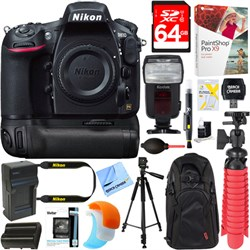 Nikon D810 36.3MP Digital SLR Camera Body + Deluxe Power ...