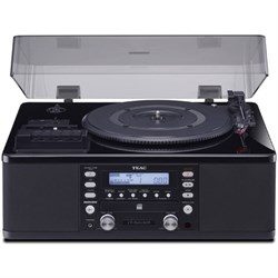 TEAC LP-R660USB-PB Turntable w/ USB, CD Recorder, Cassett...