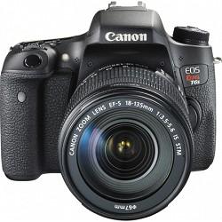 Canon EOS Rebel T6s Digital SLR Camera Body w/ EF-S 18-135mm IS STM Lens Kit