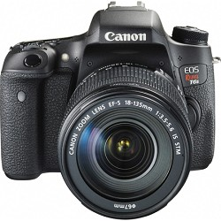 Canon EOS Rebel T6s Digital SLR Camera Body with EF-S 18-135mm IS STM Lens Kit