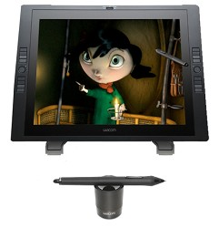 Wacom CINTIQ 21UX 21  Interactive Pen Display - Graphics Monitor with Digital Pen