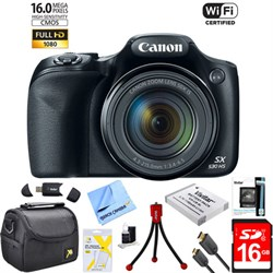 Canon PowerShot SX530 HS 16MP 50x Opt Zoom 1080p Full HD ...