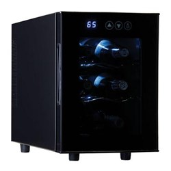 Click here for Haier 6-Bottle Capacity Wine Cellar in Black - HVT... prices