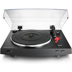 Audio-Technica AT-LP3BK Fully Automatic Belt-Drive Stereo...