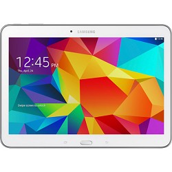 Samsung Galaxy Tab 4 White 16GB 10.1 Tablet - 1.2 GHz Quad Core, Android 4.4, Kit Kat
