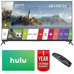 "LG 60"""" Super UHD 4K HDR Smart LED TV (2017 Model) w/ Netflix + Extended Warranty"" E91LG60UJ7700"