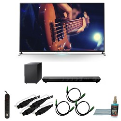Sony KDL55W950B - 55-Inch Ultimate Smart 3D LED HDTV Motionflow Bundle