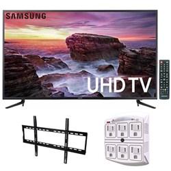 """Samsung 58"""" Smart MU6100 Series LED 4K UHD TV w/ Wi-F + W..."""