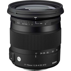 Sigma 17-70mm F2.8-4 DC Macro OS HSM Lens for Canon Mount...