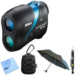 Nikon 16205 COOLSHOT 80i VR Golf Laser Rangefinder with A...