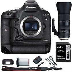 Canon EOS-1D X Mark II Digital SLR Camera Body + 150-600m...