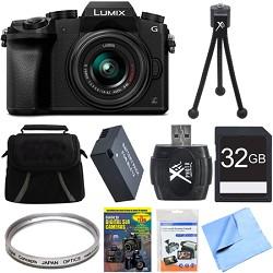 Panasonic LUMIX G7 Interchangeable Lens 4K UHD DSLM Camer...