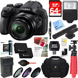 Panasonic DMC-FZ300K LUMIX FZ300 Long Zoom Digital Camera...