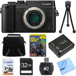 Panasonic DMC-GX8KBODY LUMIX GX8 4K Interchangeable Lens ...