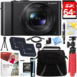 Panasonic LUMIX LX10 20.1MP Leica DC Optical Zoom Digital...