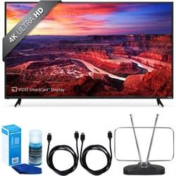 """Vizio E65-E0 SmartCast 65"""""""" UHD Home Theater Display TV w/ FM Antenna Accessory Bundle"""" E1VOE65E0"""