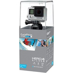 GoPro HERO4 Silver Edittion Action Camera - 4k