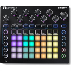 NOVATION Circuit Groove Box w/ Sample Import: 2-Part Synt...