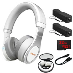 Klipsch Reference On-Ear Bluetooth Headphones White w/ 32...