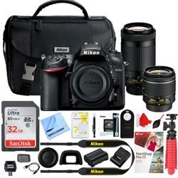 Nikon D7200 DX-Format 24.2MP DSLR Camera with AF-P 18-55m...