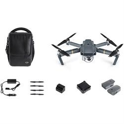 DJI Mavic Pro 4K Camera Quadcopter Drone Fly More Combo P...