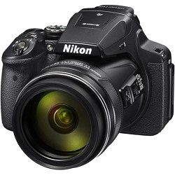 Nikon COOLPIX P900 16MP 83x Super Zoom Digital Camera Full HD Video, WiFi, GPS - Black NKCPP900K