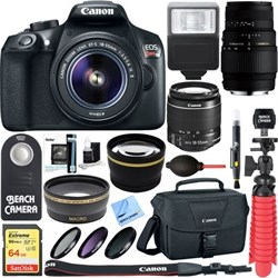 Canon EOS Rebel T6 DSLR Camera with EF-S 18-55mm IS II & ...